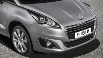 Nya generationen Peugeot 5008_frontdetalj