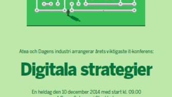 Cisco eventsponsor på Digitala Strategier, event arrangerat av Dagens Industri och Atea.