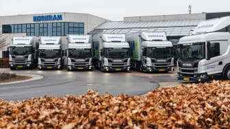 Scania Hybrid hos Hørkram