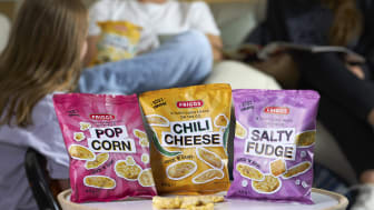 Krispiga och goda snacks - nu lanserar Friggs minimajskakor i tre spännande smaker!