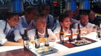 Brewmasters Dinner på Picnic, Radisson Blu Hotel Uppsala