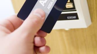 ASSA passersystem läsare och passerkort