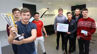 Newcastle Business School entrepreneurs lift top national accolade