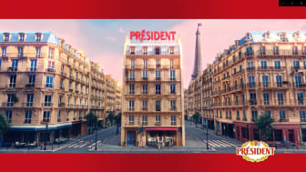Ny kommunikation från Président får tittare att drömma sig bort till Frankrike