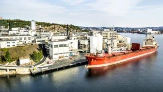 Glencore Nikkelverk i Kristiansand.