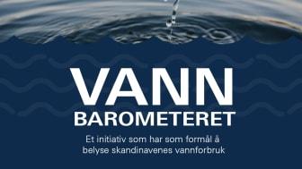 GROHE lanserer Vannbarometeret:  Nordmenn har det minst bærekraftige vannforbruket i Norden