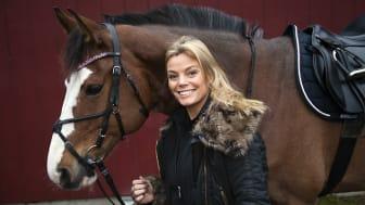 Gry Forssell med hästen Frasse