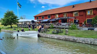 Strana elbåtens jungfrufärd genom Göta Kanal nu genomförd