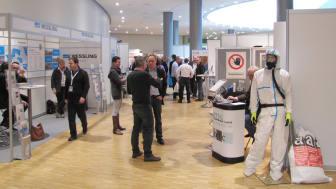 DCONex in Essen: Die begleitende Fachausstellung bringt Unternehmen, Dienstleister und Verbände mit ihren Angeboten und Informationen rund um das Schadstoffmanagement zusammen. Foto: AFAG