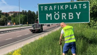 Skandinaviska Områdesskydd uppför bullerskydd åt Danderyds kommun
