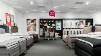 Blekingebutiken blir en storsatsning och inreds enligt KungSängens nya butikskoncept.