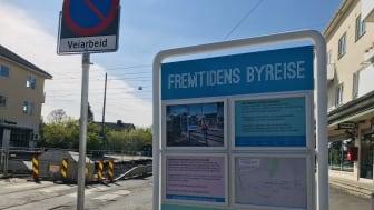Sporveien er byggherre for to infrastrukturprosjekter i Grefsenveien som pågår ovenfor Storokrysset, nærmere bestemt på strekningene Storo-Disen og Platåveien-Kjelsåsalléen holdeplass.