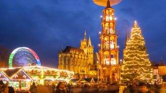 Julemarkedet i Erfurt © Thüringer Tourismus GmbH/ Martin Kirchner