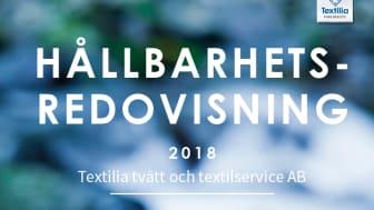 Textilia Hållbarhetsredovisning 2018