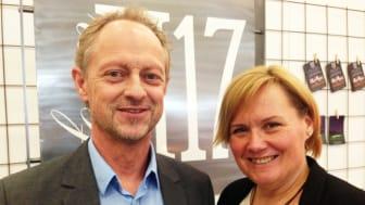 Johan och Chaterine Schander Ljungqvist, ägarna till FormH17