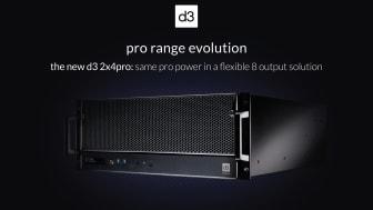 d3 präsentiert neuen Medienserver - 2x4pro ist das neue Einstiegsmodell für vollen d3-Leistungsumfang / publitec.tv