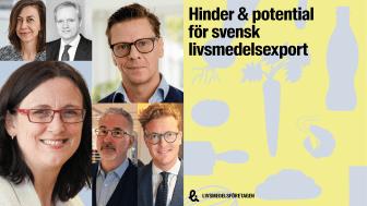 Seminarium: Hinder och potential för svensk livsmedelsexport