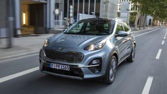 Prisen på den nye forbedrede Sportage med nyt motorprogram starter fra kr. 314.999,-