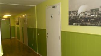 Frälsningsarméns nya härbärge för EU-migranter i Liljeholmen har 35 sängplatser.