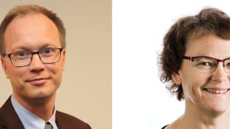 Nanna Svartz stipendium för reumatologisk forskning tilldelas Inger Gjertsson och Christopher Sjöwall