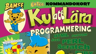 Omslag Bamse kul att lära programmering