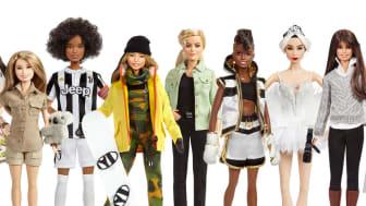 Barbie ehrt weltweit moderne Vorbilder mit einer einzigartigen, ihnen nachempfundenen Puppe