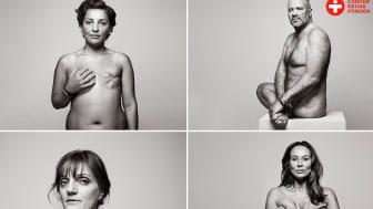 """CancerRehabFondens kampanj """"När ärren bleknat finns såren kvar""""."""