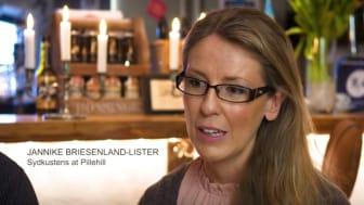 Jannike Briesenland-Lister är en av företagarna som deltar i Competence Academy Tourism.