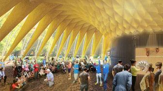 """""""Folkets House"""" blir mötesplats för Opportunity Space Festival i Enskifteshagen den 22 augusti-2 september"""