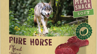 REAL NATURE Wilderness Meat Snack Soft: Pure Horse