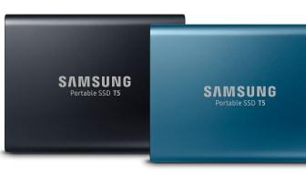 Samsung Portabe SSD T5
