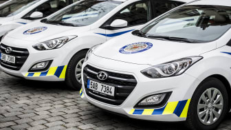 Politibiler fra Hyundai