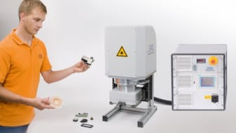 The new LPKF SmartWeld 6200 can be used integrated as a module within the client's own production set-up.