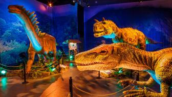 Bild från utställningen Dinosaurs The Exhibitions, Skellefteå 2019