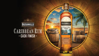 Bushmills lanserar Caribbean Rum Cask Finish
