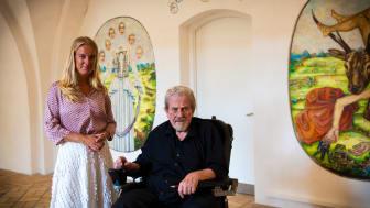 Pernille Vermund og Hans Christian Rylander