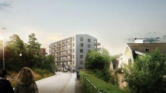 Riksbyggen, Svartviks Strand, Kungsängen, 3