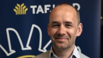 Divisjonssjef fiber i TAFJORD, Ola Engvik, er svært fornøyd med de positive tilbakemeldingene fra kundene på den nye tv-løsningen fra Altibox.