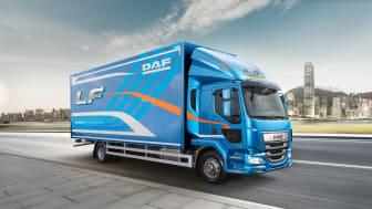 För tredje året i rad har DAF LF-serien utsetts till Årets lastbil i Storbritannien.