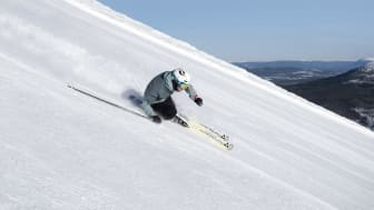 Danskerne vil være sikre på, at der er masser af sne at boltre sig i, når de tager på skiferie i Sverige. De svenske skidestinationer fokuserer heldigvis meget på snesikkerhed. Foto: Stöten.