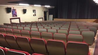Rotary stödjer biografen i Lindesberg med bioreklam för LindeDagen
