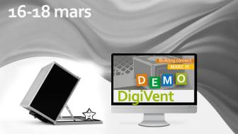 Möt våra retrofit-experter på Digivent 16-18 mars - online.