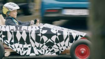 Kamouflerad Hyundai Sopabox fångad på bild.