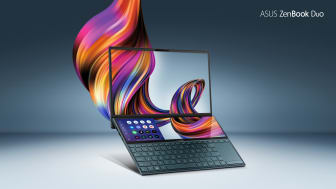 ASUS lanserar ZenBook Duo med revolutionära ScreenPad Plus i Sverige