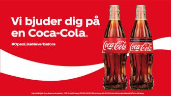 Coca-Cola stöttar restaurangbranschen med nytt initiativ