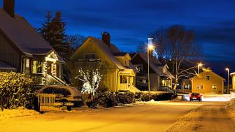 En riktigt kall vinterdag kan el bli en bristvara i Sverige. Forskare ska undersöka vilka förutsättningar småhusägare och energibolag har för att klara sådana situationer. Foto: Shutterstock.