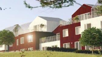Bygglovet godkänt för Titanias projekt i Arninge-Ullna!