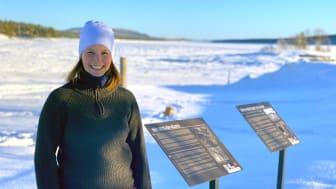 Helena Fjellgren är projektledare för Lofsdalens Kulturvandring