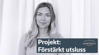 Lovisa Älenmark är projektledare för Skyddsvärnets nya projekt som ska ge fler kvinnor som är eller varit på anstalt möjlighet till en bra utsluss i samhället. Foto: Skyddsvärnet
