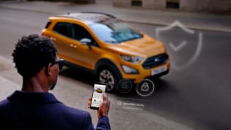 Lanserer ny «tyverialarm» på mobiltelefonen for alle nyere Ford-modeller